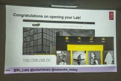 Svečano otvoren Digitalni laboratorij Nacionalne i sveučilišne knjižnice u Zagrebu.