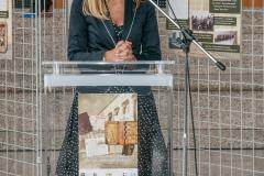 Tanya Dimitrova, veleposlanica Republike Bugarske u Republici Hrvatskoj, otvorila je izložbu.