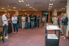 Svečanost u povodu milijuntog zapisa u knjižničnome katalogu NSK.