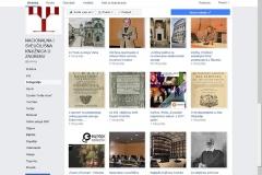 Albumi Nacionalne i sveučilišne knjižnice u Zagrebu na društvenoj mreži Facebook.