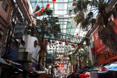 A Chinese district. Kuala Lumpur, Malaysia.
