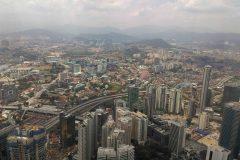 A cityscape of Kuala Lumpur, the capital of Malaysia.