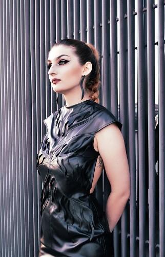 Dio završnoga rada studentice modnoga dizajna na Tekstilno-tehnološkome fakultetu Alison Ivašić izrađen na 3D pisaču u Digitalnome laboratoriju NSK.