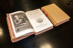 U Nacionalnoj i sveučilišnoj knjižnici u Zagrebu pohranjeno 10 svezaka čuvene Enciklopedije Diderota i d'Alemberta.