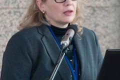 Dr. sc. Dijana Machala, savjetnica za knjižnično-informacijski sustav Nacionalne i sveučilišne knjižnice u Zagrebu, predsjednica Organizacijskog odbora skupa.