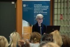 Tanja Buzina, voditeljica Odjela obrade Nacionalne i sveučilišne knjižnice u Zagrebu.