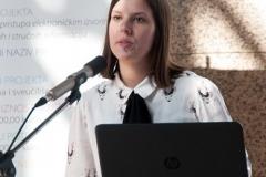 """Djelatnica NSK Dolores Vrbanić na radionici """"e-Izvori: iskustva i planovi"""" održala je izlaganje o elektroničkim izvorima znanstvenih i stručnih informacija."""