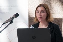 """Djelatnica NSK Ivona Milovanović na radionici """"e-Izvori: iskustva i planovi"""" održala je izlaganje o elektroničkim izvorima znanstvenih i stručnih informacija."""