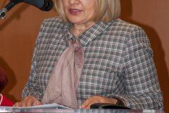 """Glavna ravnateljica NSK dr. sc. Tatijana Petrić na predstavljanju projekta """"TRACE""""."""