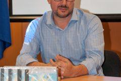 "José M. González Riera na predstavljanju projekta ""TRACE""."