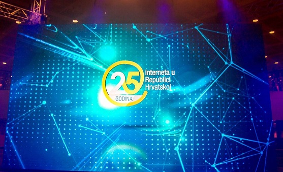 U NSK svečano obilježena 25. obljetnica interneta u Republici Hrvatskoj. Autor fotografije: Središnji državni ured za razvoj digitalnoga društva.