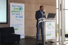 """Janakiraman Amirthalingam (M S Swaminathan Research Foundation, Indija) na 1. međunarodnoj konferenciji o zelenim knjižnicama """"Let's Go Green!"""". Nacionalna i sveučilišna knjižnica u Zagrebu, 8. – 10. studenog 2018."""