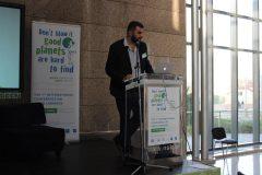 "Philippe Colomb (Médiathèque Françoise Sagan, Francuska) na 1. međunarodnoj konferenciji o zelenim knjižnicama ""Let's Go Green!"". Nacionalna i sveučilišna knjižnica u Zagrebu, 8. – 10. studenog 2018."