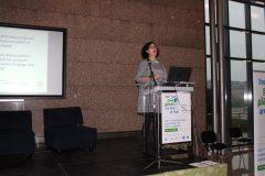 "Heike Ehrlicher (Bibliothek Information Schweiz, Švicarska) na 1. međunarodnoj konferenciji o zelenim knjižnicama ""Let's Go Green!"". Nacionalna i sveučilišna knjižnica u Zagrebu, 8. – 10. studenog 2018."