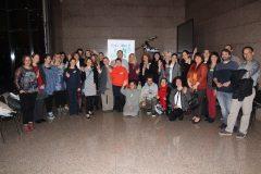 """Sudionici 1. međunarodne konferencije o zelenim knjižnicama """"Let's Go Green!"""". Nacionalna i sveučilišna knjižnica u Zagrebu, 8. – 10. studenog 2018."""