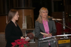 Izložbu su predstavile dr. sc. Helena Markulin i Ivana Majer, prof.