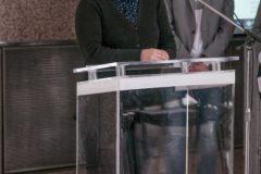 """Savjetnica Pravobraniteljice i logopedinja Ivona Salaj na obilježavanju Međunarodnoga dana obitelji u sklopu Nacionalne kampanje """"I ja želim čitati!""""."""