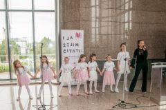 """Dječji plesno-pjevački zbor """"Arija"""" na obilježavanju Međunarodnoga dana obitelji u sklopu Nacionalne kampanje """"I ja želim čitati!""""."""