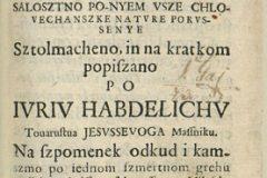 """Habdelić, Juraj. """"Pervi otca našega Adama greh"""", 1674., Zbirka rukopisa i starih knjiga Nacionalne i sveučilišne knjižnice u Zagrebu."""