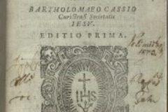 """Kašić, Bartol. """"Institutionum linguae Illyricae libri duo"""" (1604.)."""