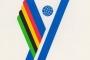 Logotip Univerzijade održane u Zagrebu 1987. godine na plakatu koji se čuva u Grafičkoj zbirci NSK.