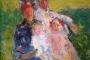 "Richard Gerstl. ""Obitelj Schönberg"" (1907.). Muzej moderne umjetnosti ""mumok"" Zaklade Ludwig, Beč, Austrija. Izvor: http://www.europeana.eu/portal/en/exhibitions/faces-of-europe/."