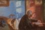"Anna Ancher. ""Ane Hedvig Brøndum, majka umjetnice, u plavoj sobi"" (1909.). Nacionalna galerija Danske. Izvor: http://www.europeana.eu/portal/en/exhibitions/faces-of-europe/."