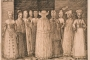 "Melchior Lorichs. ""Deset žena iz Stralsunda"" (ca 1571.). Nacionalna galerija Danske. Izvor: http://www.europeana.eu/portal/en/exhibitions/faces-of-europe/."