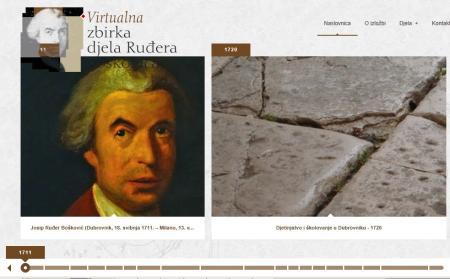 Virtualna zbirka djela Ruđera Boškovića