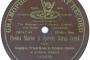 ALBINI, Srećko: BARUN TRENK, opereta u tri čina izvodi FRIEDA GROSZ, sopran, uz ženski zbor i orkestar,  Gramophone concert record, objavljeno: 1909. g.
