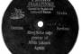 LISINSKI, Vatroslav: MIRUJ, MIRUJ SRCE MOJE ALBIN LUKASCH , bariton uz pratnju glasovira, pjevano na hrvatskome, snimljeno u Beču, proizvedeno u Hannoveru 1901.