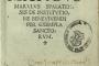 Marko Marulić De institutione bene vivendi per exempla sanctorum. Venetiis: Franciscus Lucensis de Consortibus et Bernardinus de Vitalibus, 1506.