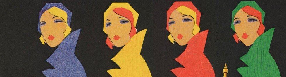 Maixner, Franjo. Shell : proizvodi za svaku domaćicu. 1930. litografija u boji, 96 x 63 cm, Grafička zbirka
