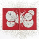 """Ariadne's Thread"", skulptura od knjige, umjetnice Barbara Wildenboer"