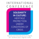 "NSK 2021 international conference ""Solidarity in culture: Heritage protection under conditions of crisis."