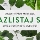 Croatian Book Month 2020 marking 50th anniversary of Earth Day celebrations.
