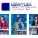 NSK 2021 international virtual conference: Solidarity in culture: Hertiage protection under conditions of crisis.