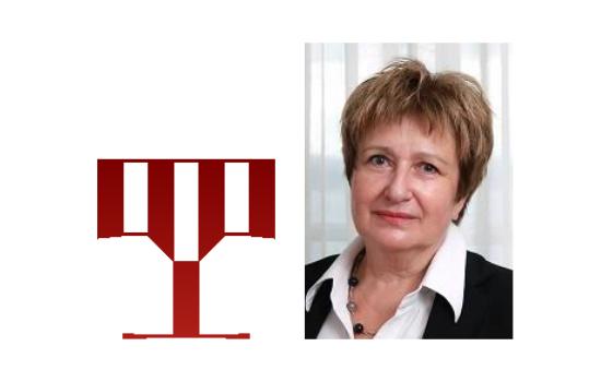 NSK logotype. Photo of NSK Director General Dr Ivanka Stričević.