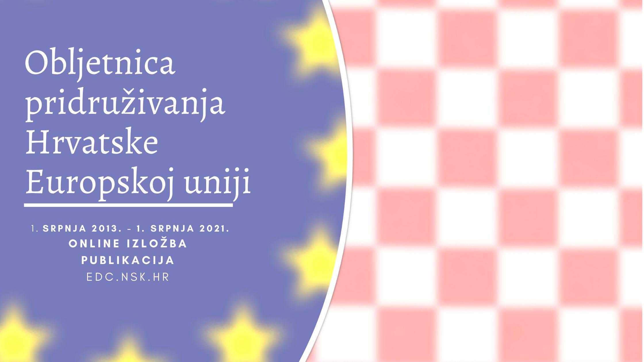 Osma obljetnica pridruživanja Hrvatske Europskoj uniji.