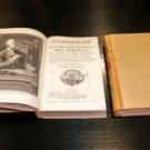 The volumes of Encyclopédie, Ou Dictionnaire Raisonné Des Sciences, Des Arts Et Des Métiers.