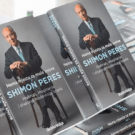 """The cover of Shimon Peres' book """"No Room for Small Dreams: Courage, Imagination, and the Making of Modern Israel""""."""