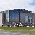 Zgrada Nacionalne i sveučilišne knjižnice u Zagrebu.