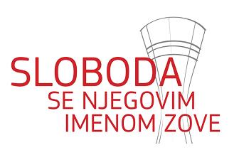 "Logotip izložbe ""Sloboda se njegovim imenom zove""."